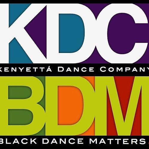 Black Dance Matters 2020 Button