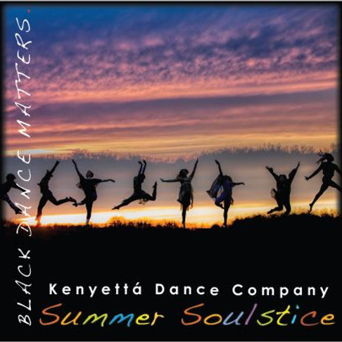 Black Dance Matters Button (Summer Soulstice)