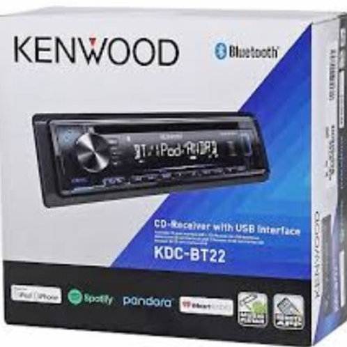 Kenwood BlueTooth CD Receiver