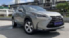 Lexus NX200t Front View