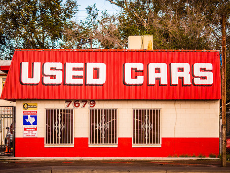 What to look for in a secondhand car