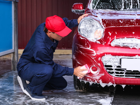 It's hard work, but this is the best way to wash your car's exterior