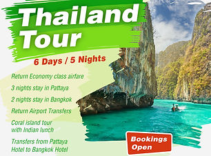 Thailand Tour package for Family with Ka
