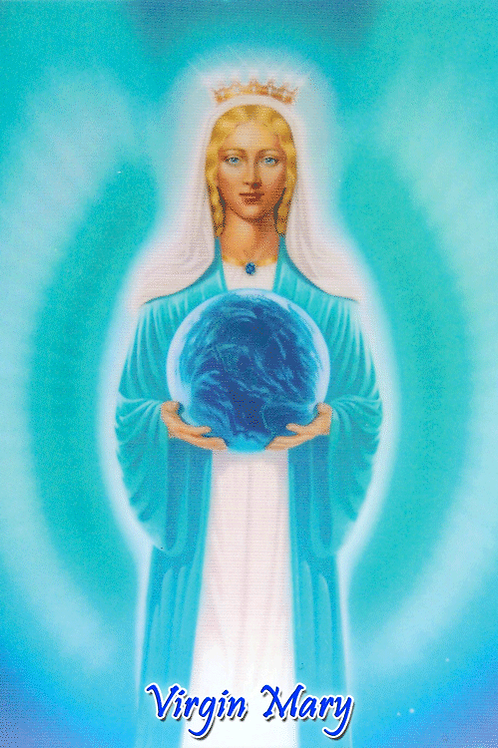 Virgin Mary - with Earth