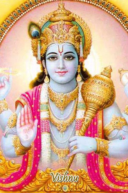 Vishnu - w/ scepter