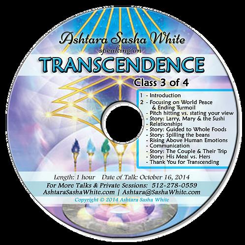 Transcendence 3 (of 4)