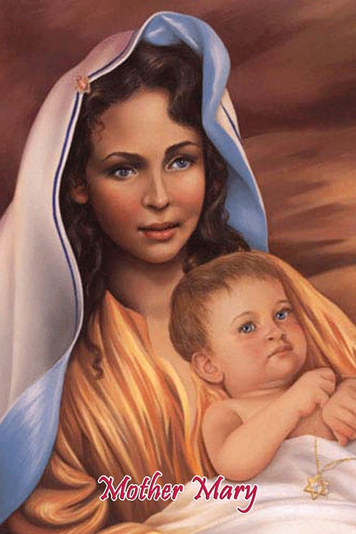 Mother Mary - with Baby Jesus