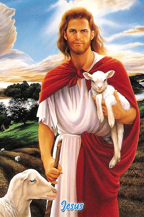 Jesus - with Lamb