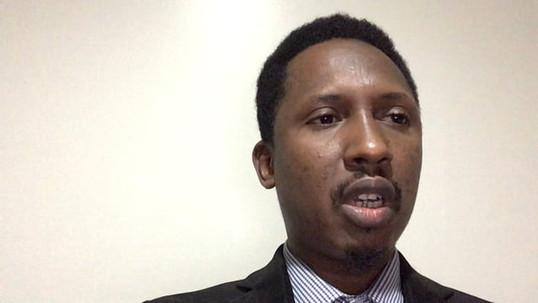"Thierno Says, ""Vote for a Safe Asylum"""