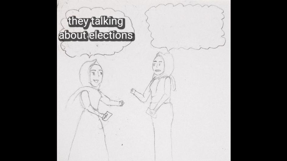 Yemeni Girls Talk About Voting
