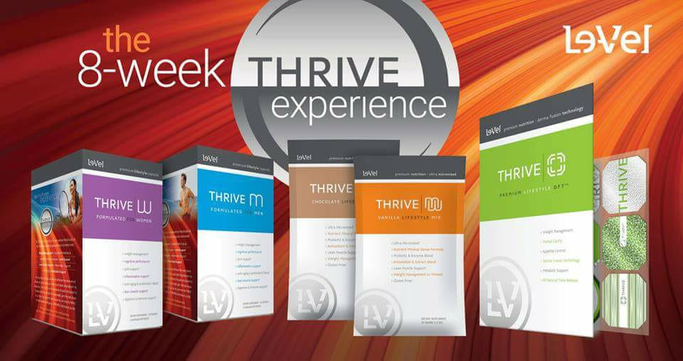 Le-Vel Thrive 8-wee experience