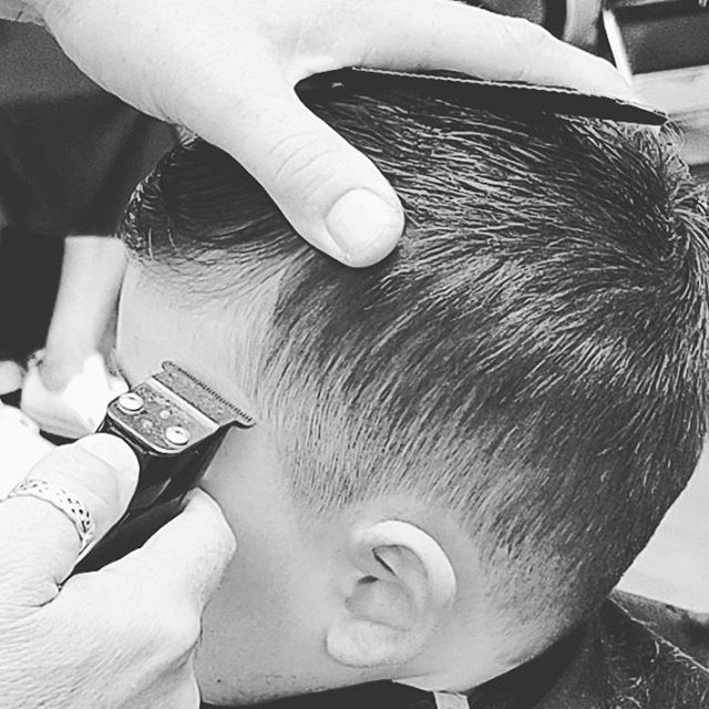 #kids #promasterbarber #hair #barber #americancrew #barberlife #1 _Big or small ..
