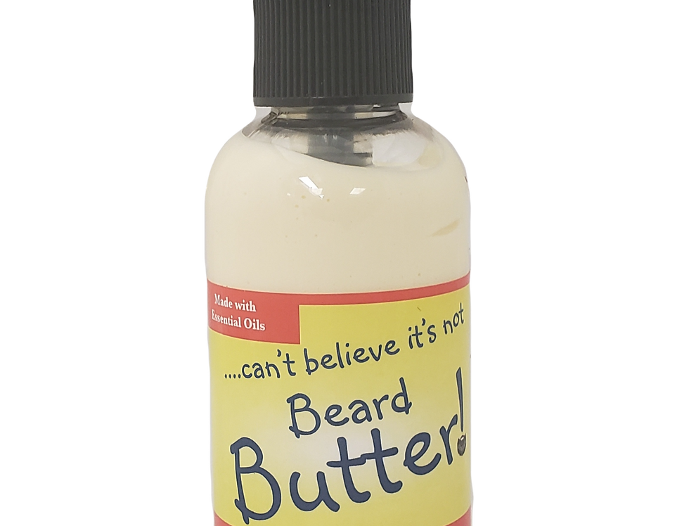 I can't believe it's not BEARD BUTTER