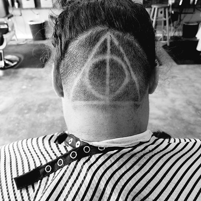 HOGWARTS! _#promasterbarber #legendsbarberco_#legends #barber