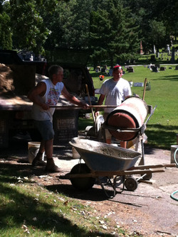 Mixing Foundations for Monuments