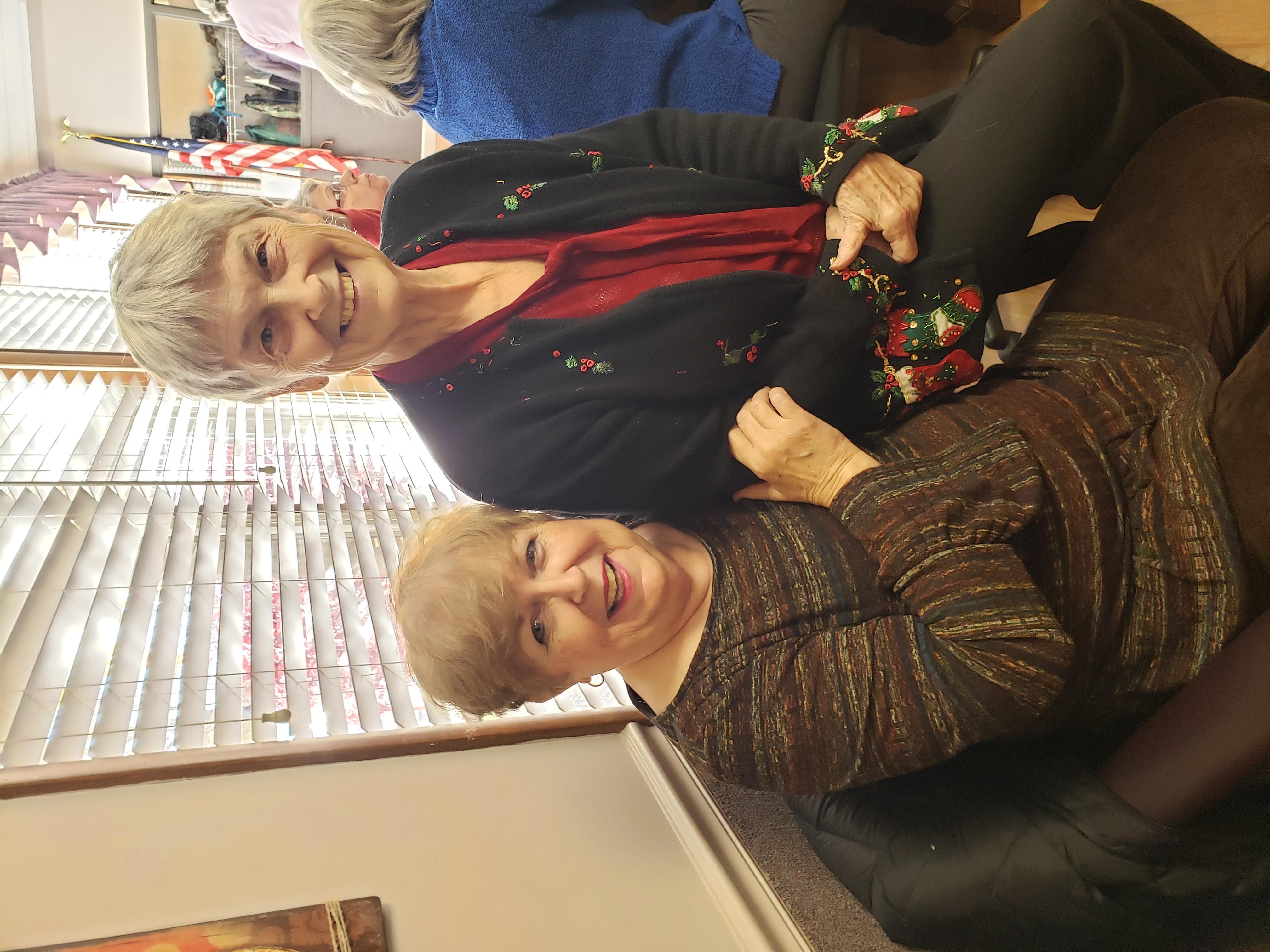 Mary Ann Hagan & Annette Carmean