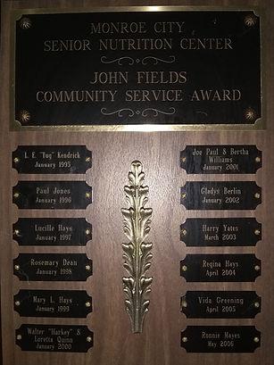 Monroe City Senior Center John Fieldss