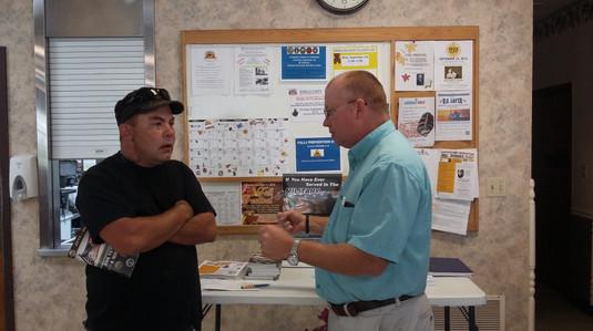 VA Rep John Simpson & Everett Lewis