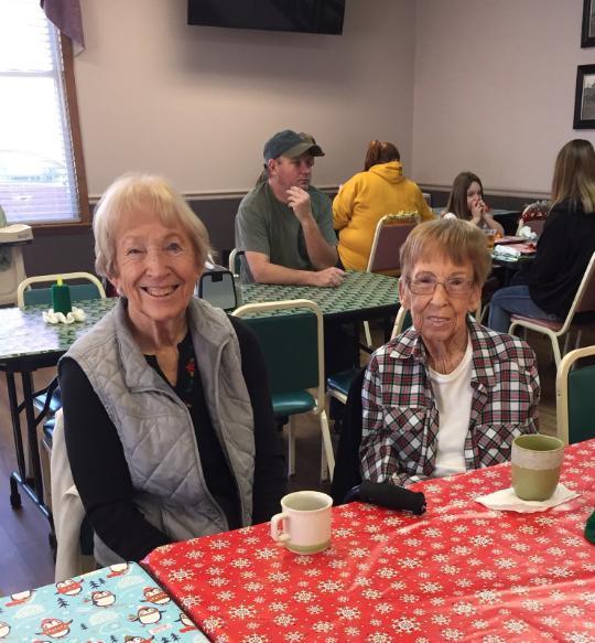 Wilma Kastner & Jennie Sullivan