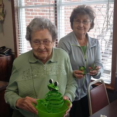 Margaret Hayes & Doris Kennison