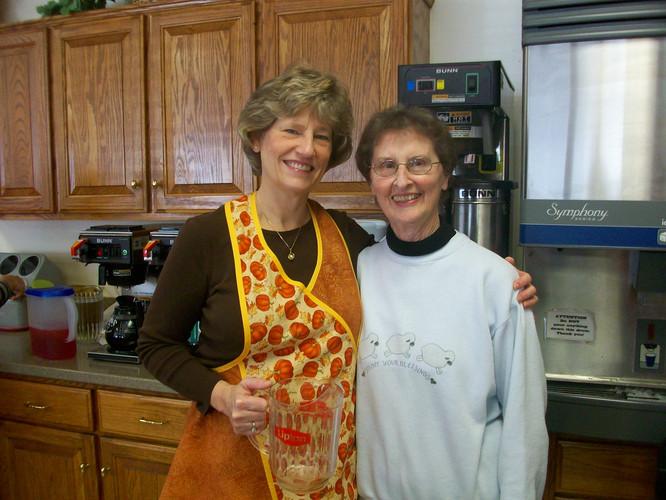 Coffee & Tea Barb Carson & Margaret Raet