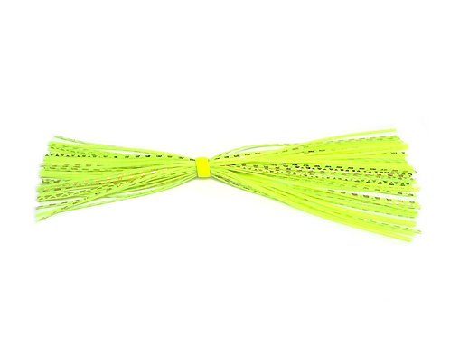 Skirt - Chartreuse/Gold Chrome Flash