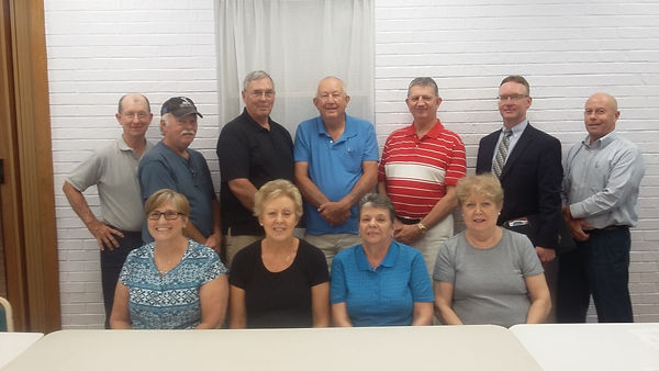 Monroe City Senior Center Board Members 2019