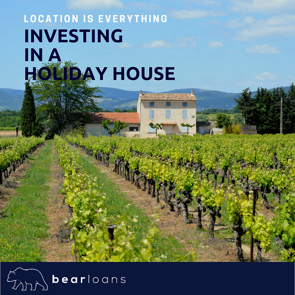 Investing in a holiday house