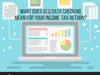 What does ATO Data Checking mean for your income tax return?