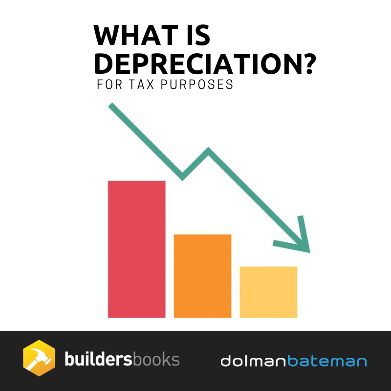 What is Depreciation for tax purposes