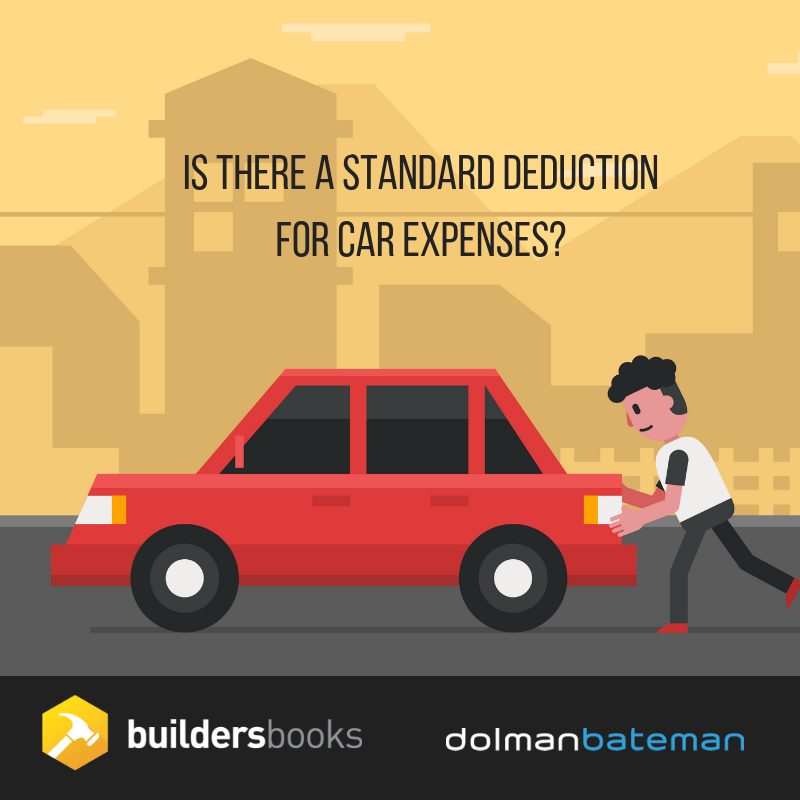 is there a standard deduction for car expenses