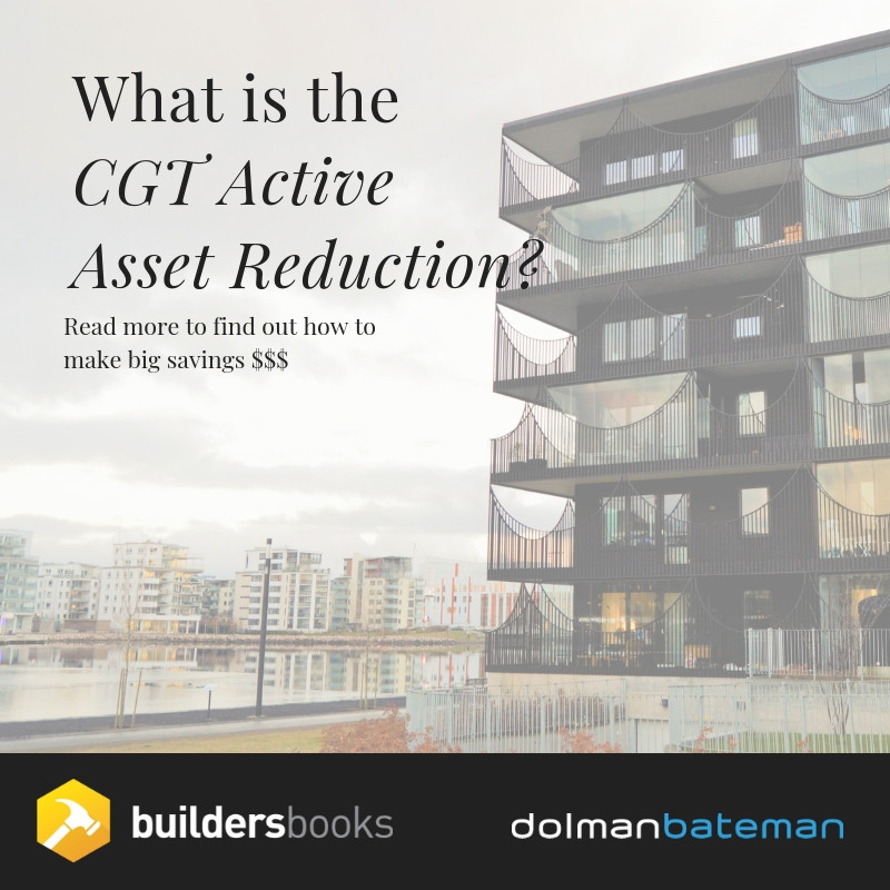 What is the CGT Active Asset Reduction