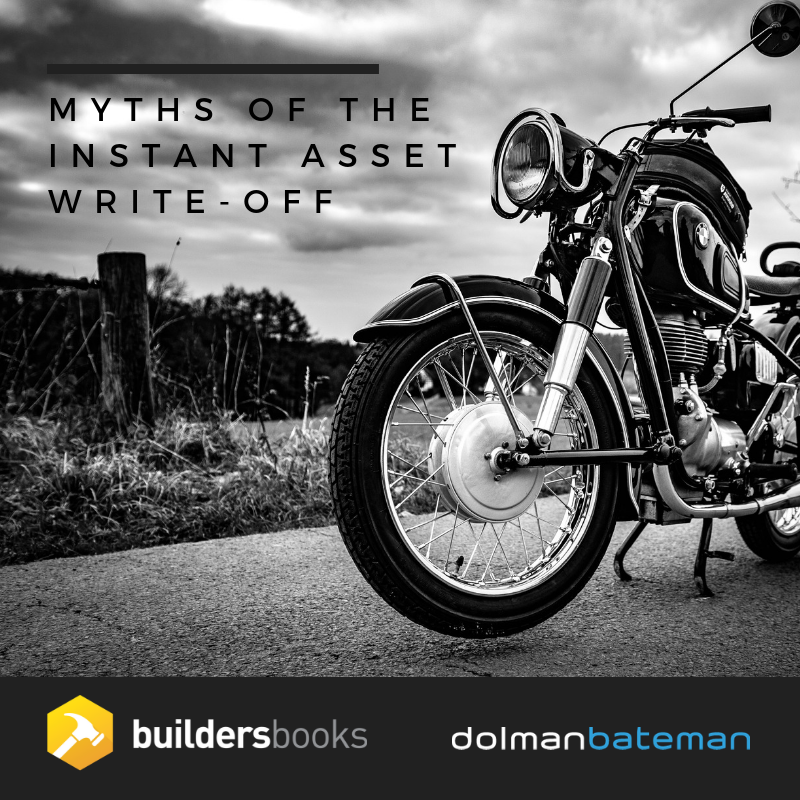 myth of the instant asset write-off