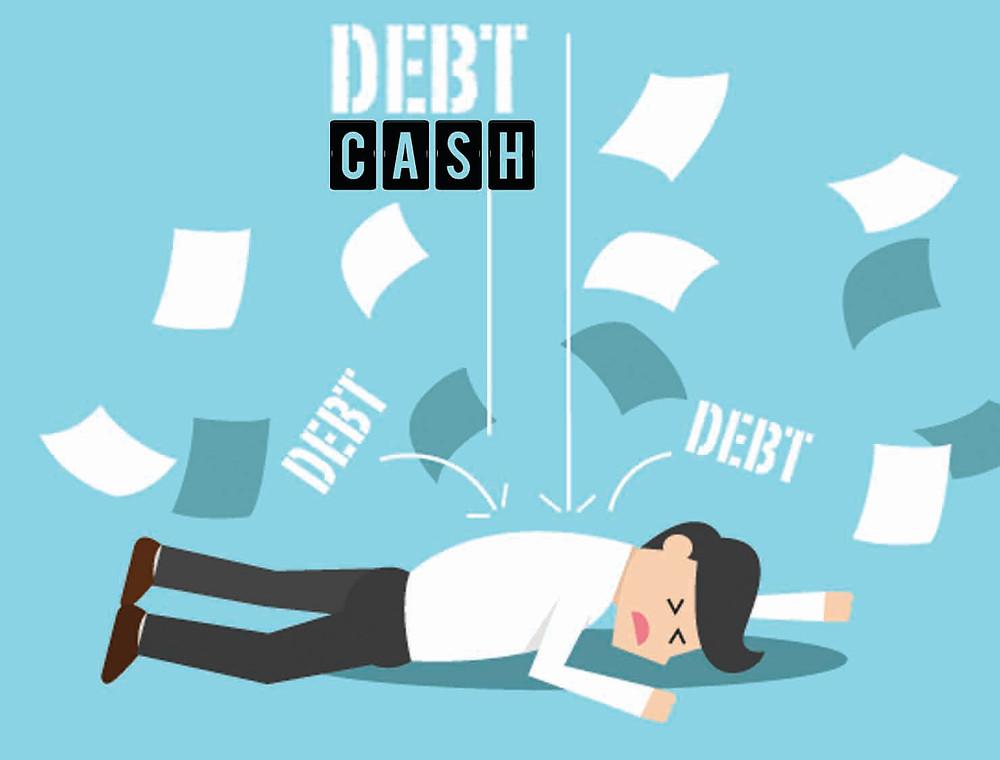 debt cash