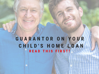 Guarantor on your child's home loan? Read this first!
