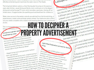 How To Decipher A Property Advertisement