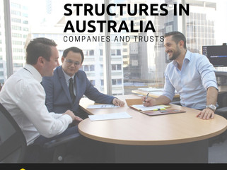 Business Structures in Australia- Companies and Trusts