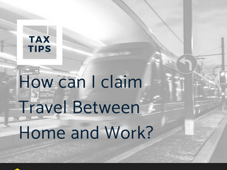 How can I claim my Travel between home and work?