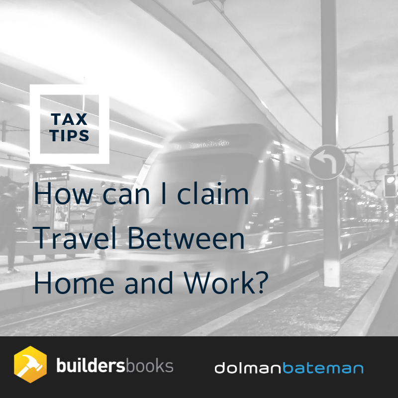 how can i claim travel between home and work