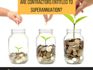 Are contractors entitled to Superannuation?
