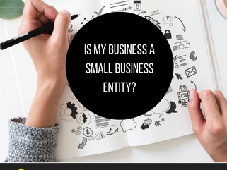 Is my business a small business entity?