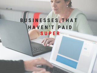 Businesses That Haven't Paid Super