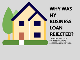 4 Reasons Why Your Business Loan Was Rejected – And What to Do