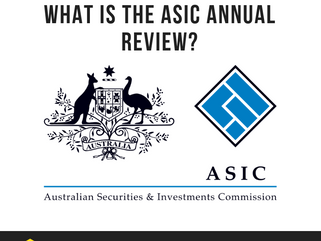 What is the ASIC Annual Review?