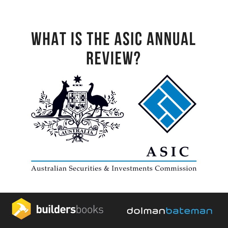 What is the ASIC annual review