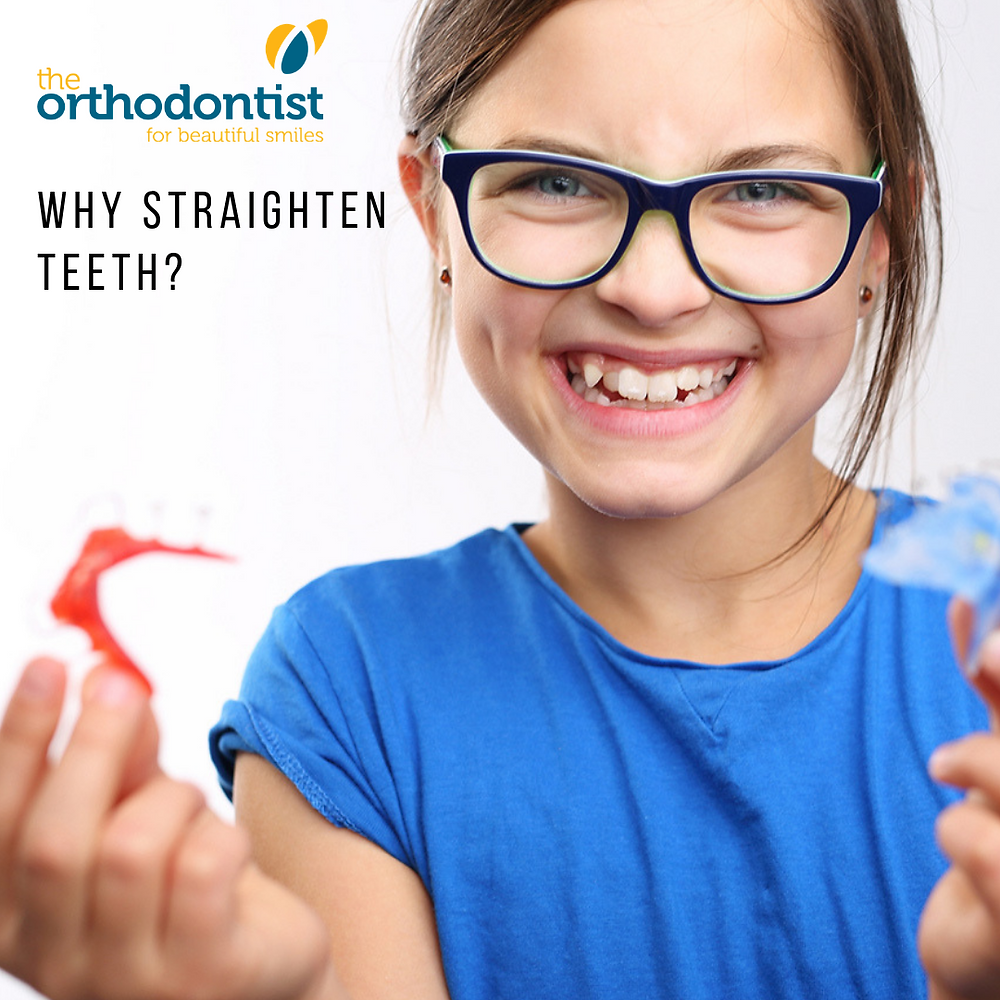 why do we straighten teeth?