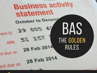 BAS. THE GOLDEN RULES!