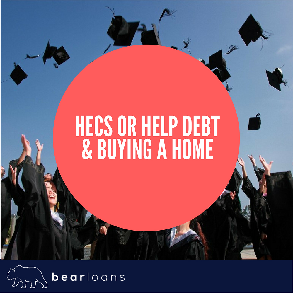 Hecs or Help debt and buying a home