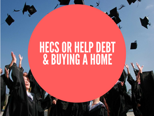 HECS or HELP debt & buying a home