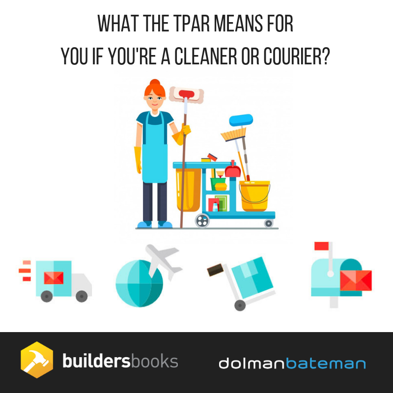 What the TPAR means for you if you're a cleaner or courier
